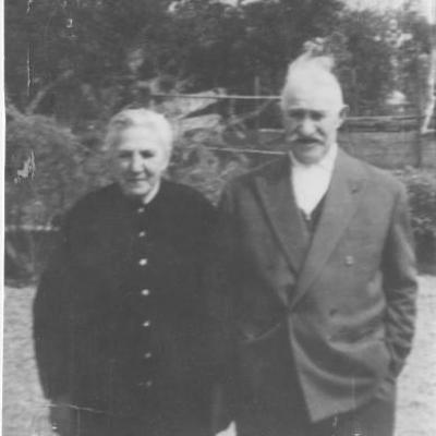 Franchini Pierre et épouse SALVI Elisabeth
