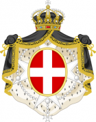 Coat of arms of the sovereign military order of malta variant