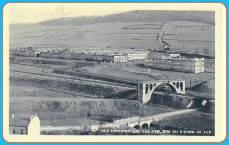 Tnchenois les ateliers du chemin de fer